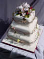 The Marita wedding cake