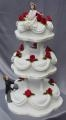 The Michelle and Wayne wedding cake